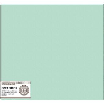 K&Company Faux Leather Post Bound Basic Album 12