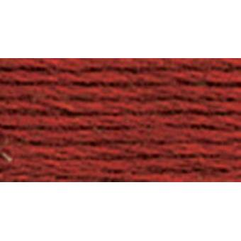 Dmc Tapestry & Embroidery Wool 8.8 Yards Very Dark Burnt Orange 486 7008