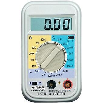 Component tester digital VOLTCRAFT LCR-9063 Calibrated to: Manufacturer's standards (no certificate) CAT I Display (cou