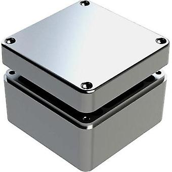 Universal enclosure 125 x 125 x 90 Aluminium Grey Deltron Enclosures 487-121209A 1 pc(s)