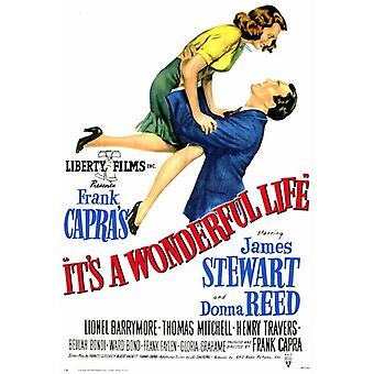 Its a Wonderful Life Movie Poster (11 x 17)