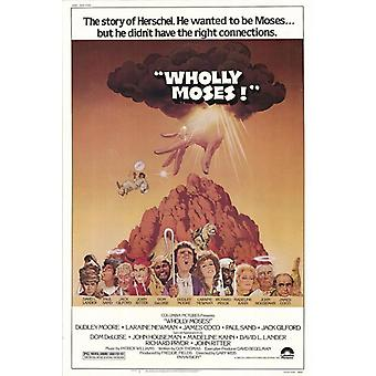 Wholly Moses Movie Poster Print (27 x 40)