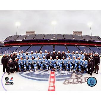 Pittsburgh Penguins - 2008 Winter Classic  Team Photo Print