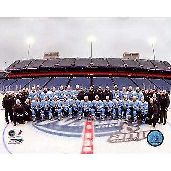 Pittsburgh Penguins - 2008 Winter Classic  Team Photo Print
