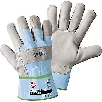 worky 1574 GRANIT Glove Cowhide full-grain leather Size 10