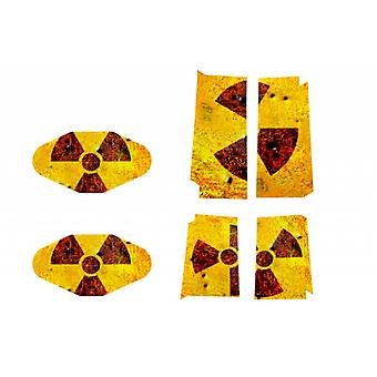 Sticker radioactivity for the PlayStation 4