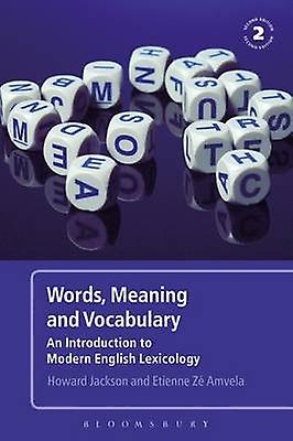 Words Meaning and Vocabulary by Howard Jackson