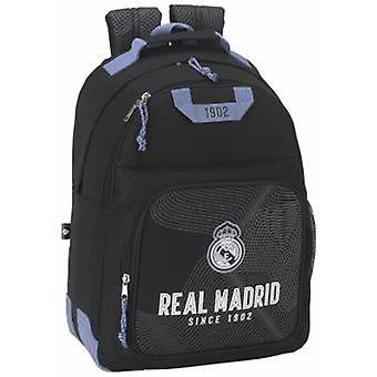 Real Madrid Day Pack Doble Real Madrid Black (Toys , School Zone , Backpacks)