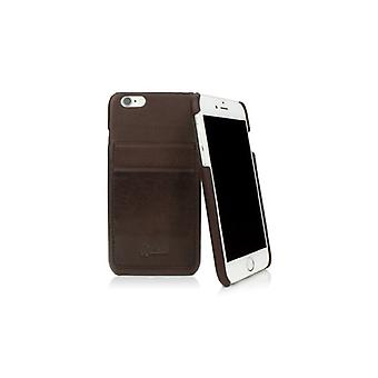 Caseual Leather back For iPhone 6/6S-MOCCA