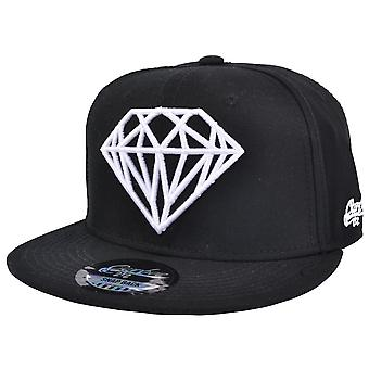 Diamond Snapback Cap