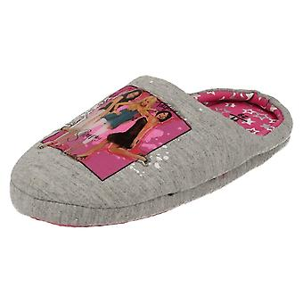 Girls Spot On High School Musical Slipper Mules Girl Power