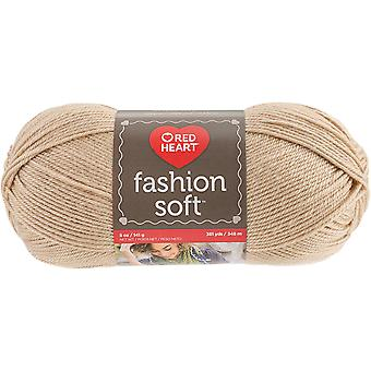 Red Heart Fashion Soft Yarn-Camel E845-4613
