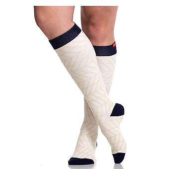 Vim & Vigr 15-20 MmHg Frauen stilvoll Compression Socks - Baumwolle