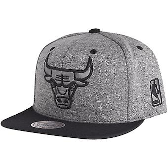Mitchell & Ness Snapback Cap - BROAD Chicago Bulls grey