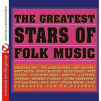 Grandes estrellas de la música Folk - grandes estrellas de la música folclórica [CD] USA importar