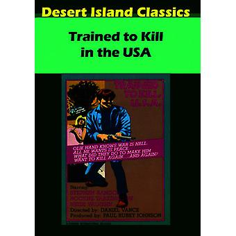 Trained to Kill Usa [DVD] USA import