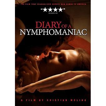 Dagbok av en NYMFOMAN [DVD] USA import