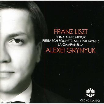 F. Liszt - Liszt: Klaversonate; Petrarca sonetter; Mephisto-Waltz; La Campanella [CD] USA importerer