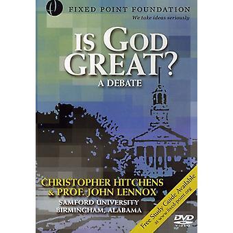 Lennox & Hitchens - Is God Great? [CD] USA import