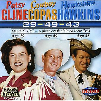 Cline/Copas/Hawkins-29-49-43 [CD] USA importerer