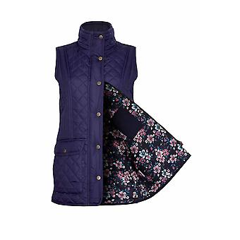 Ladies Champion Dornay Country Estate Zip Closure Quilted Gilet Bodywarmer