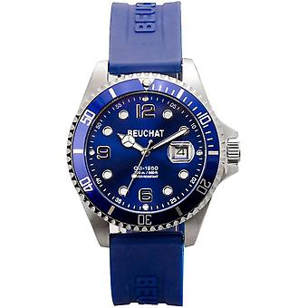 Watch Beuchat BEU1950-81 - dater Silicone Blue Man