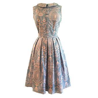 RETROLICIOUS - THE PEGGY DRESS- Retro Vintage Fashion - Cream