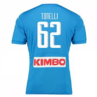 2016-17 Napoli authentiek thuis Shirt (Tonelli 62)