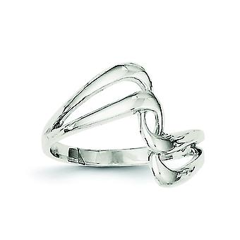 Sterling zilveren Fancy Ring - Ringmaat: 6 tot en met 8