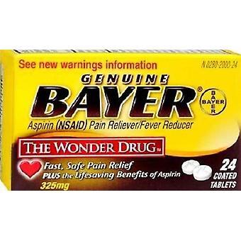 Bayer aspirina 325 mg recubierto comprimidos