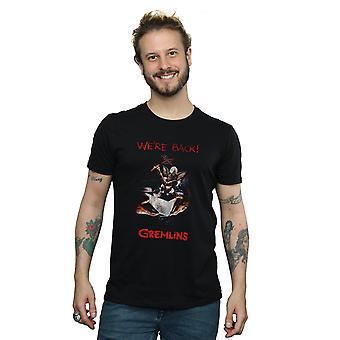 Gremlins Men's Spike Distressed Poster T-Shirt