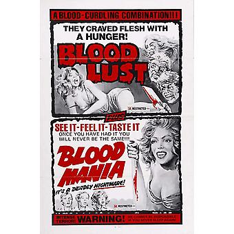 Blood Mania Movie Poster (11 x 17)
