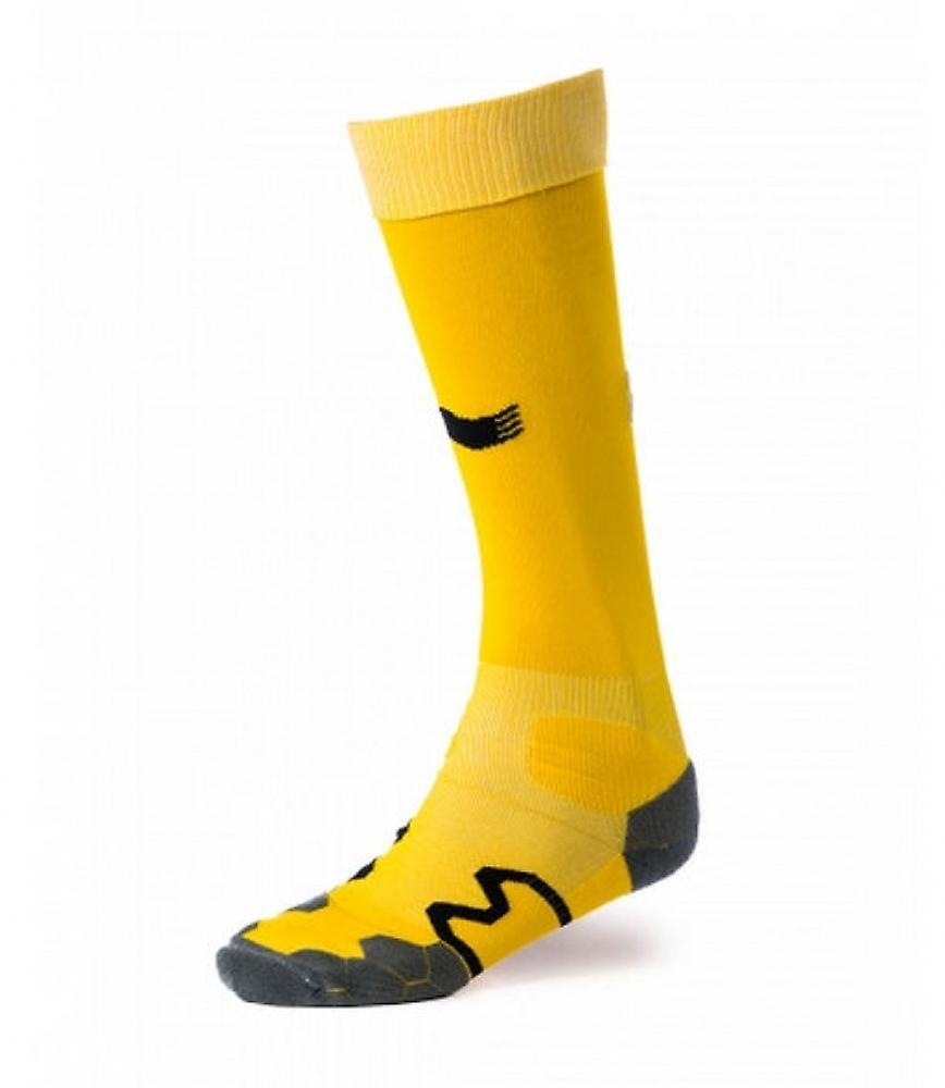 2014-15 Belgium Burrda 3rd Socks (Yellow)