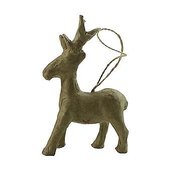 Decopatch Paper Mache Reindeer Decoration**^
