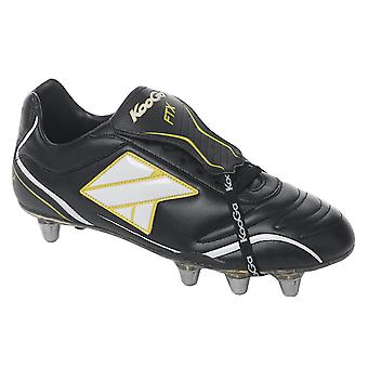KOOGA FTX low cut soft toe rugby boot [black/white]