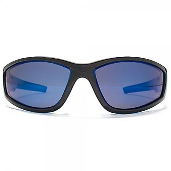 Freedom Polarised Sport Wrap Sunglasses In Black