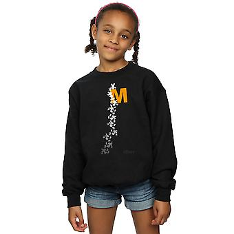 Disney Girls Mickey Mouse Climbing Silhouettes Sweatshirt
