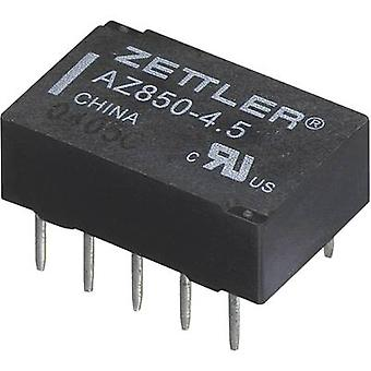 PCB relays 5 Vdc 1 A 2 change-overs Zettler Electronics