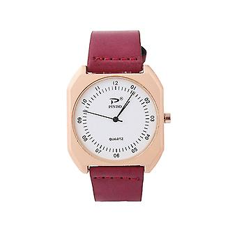 Pinbo Watch Purple Rose Gold Watches