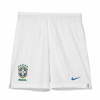 2018-2019 Бразилии гостях шорты Nike (белый) - дети