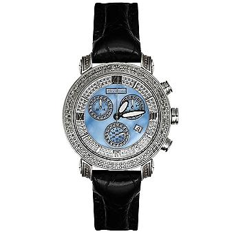 Joe Rodeo diamond men's watch - CLASSIC silver 1.75 ctw