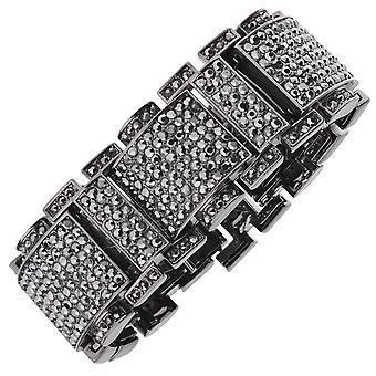 Iskallt ut bling HipHop armband armband - RICK ROSS svart