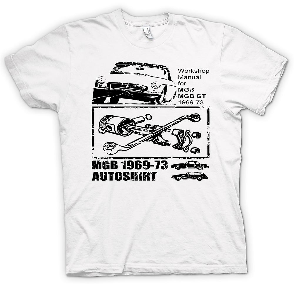 Mens T-shirt - MGB GT 69 - 73 - Classic Car