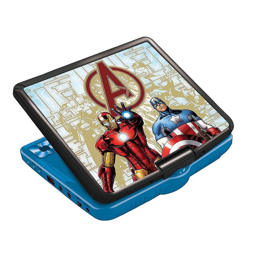 Lexibook The Avengers Portable DVD Player (Model No. DVDP6AV)