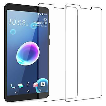HTC Desire 12 härdat glas (Twin Pack) - klart