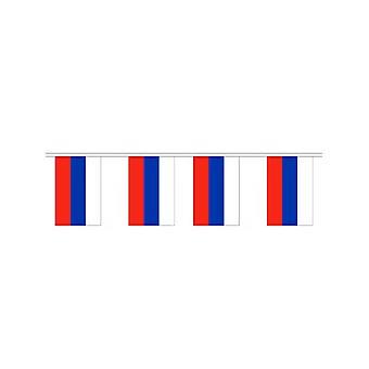 Rußland, die Girlande 6m 20 Flagge
