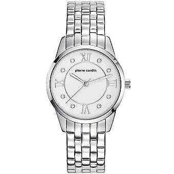 Pierre Cardin ladies watch wristwatch Troca stainless steel PC107892F05
