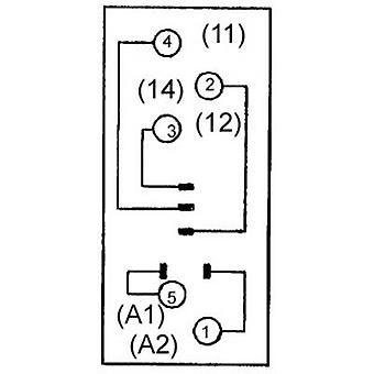 Relay socket 1 pc(s) Omron P2RF-05E Compatible with series: Omron G2R series