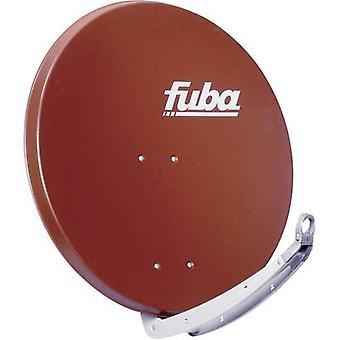 fuba DAA 850 R SAT antenne 85 cm reflecterend materiaal: Aluminium baksteen rood