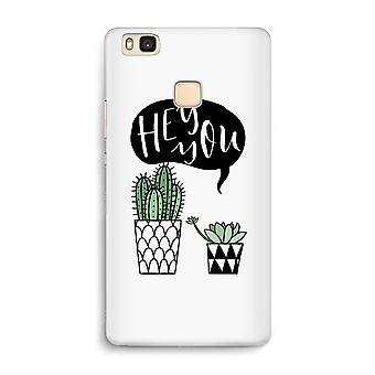 Huawei P9 Lite Full Print Case - Hey you cactus